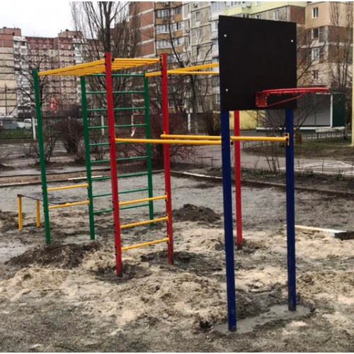SPORT PLAY-4 Вуличний спорткомплекс для підлітків