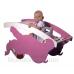 СЛОНИК стульчик для кормления со столиком и качалкой