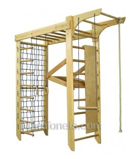 КИНДЕР-5 деревянный спортивный уголок