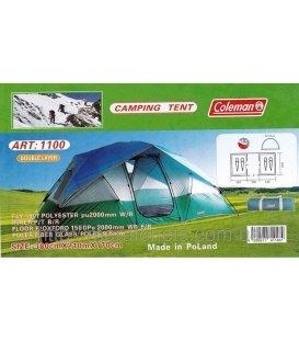 COLEMAN 1100  4-местная палатка