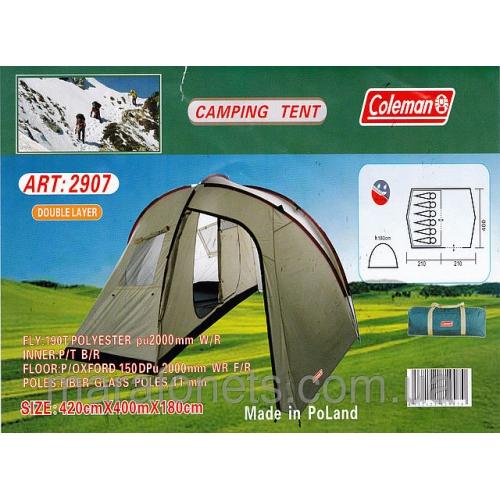 COLEMAN 2907 Палатка шестиместная