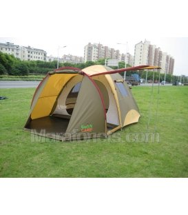 X-1036 GREEN CAMP Четырехместная палатка