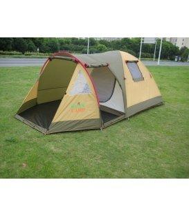 X-1504 GREEN CAMP трехместная палатка