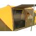 MIMIR MM/Х-1820 6-местная палатка (р-р 610 (195+220+195) х230 х180см,коричневый-песочный)