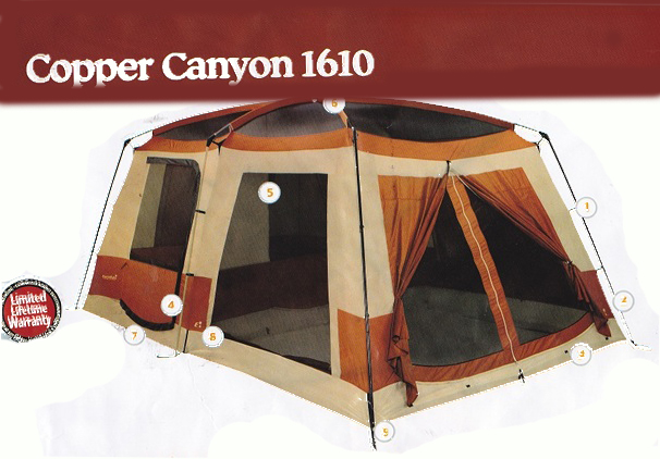 EUREKA COPPER CANYON 1610